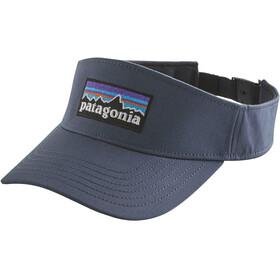 Patagonia P-6 Logo Visor Dolomite Blue